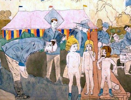 Аутсайдерское искусство: Аутист, раб, почтальон и другие неожиданно великие художники. Изображение № 3.