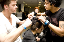 London Fashion Week. Hairlooks. Part 2. Изображение № 9.