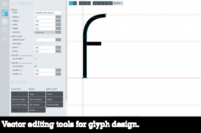 Представлен бесплатный инструмент для создания шрифтов . Изображение № 2.