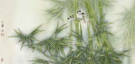 Птицы ицветы. Изображение № 1.