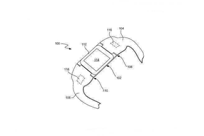 Apple получила патент на смарт-часы iTime . Изображение № 1.