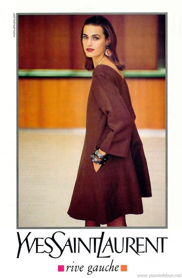 Архивная съёмка: Рекламная кампания Yves Saint Laurent SS 1991. Изображение № 2.