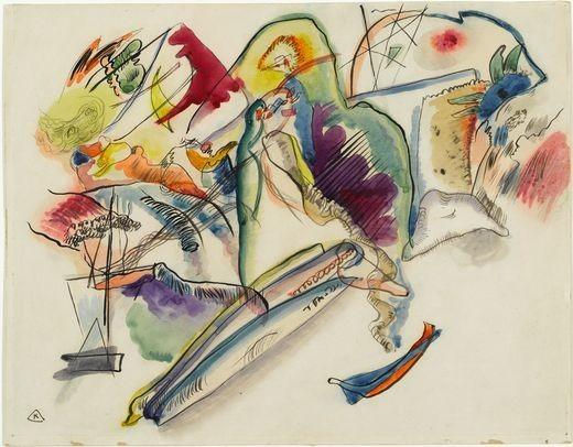 Коллекция работ В.В. Кандинского. Изображение № 52.