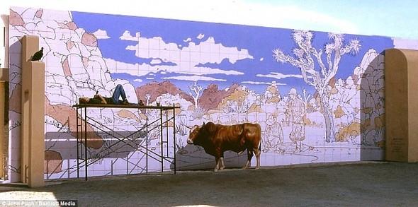 3D-маскировка городских стен от Джона Пью. Изображение № 6.