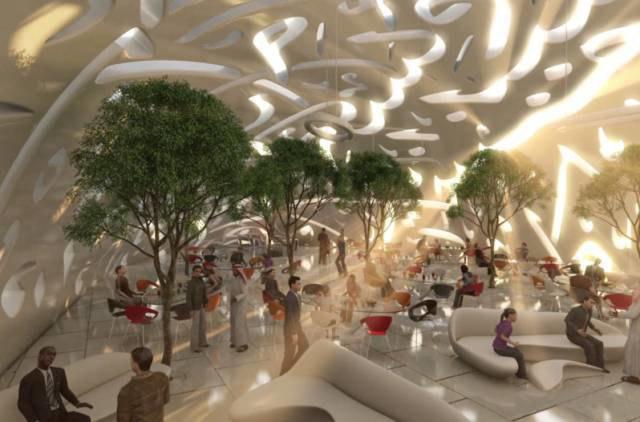 В Дубае показали проект Музея будущего. Изображение № 4.