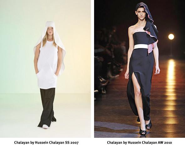 Хронология бренда: Hussein Chalayan. Изображение № 10.