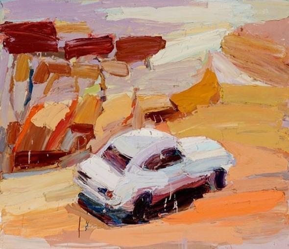 Абстрактные автомобили Бена Куильти. Изображение № 6.