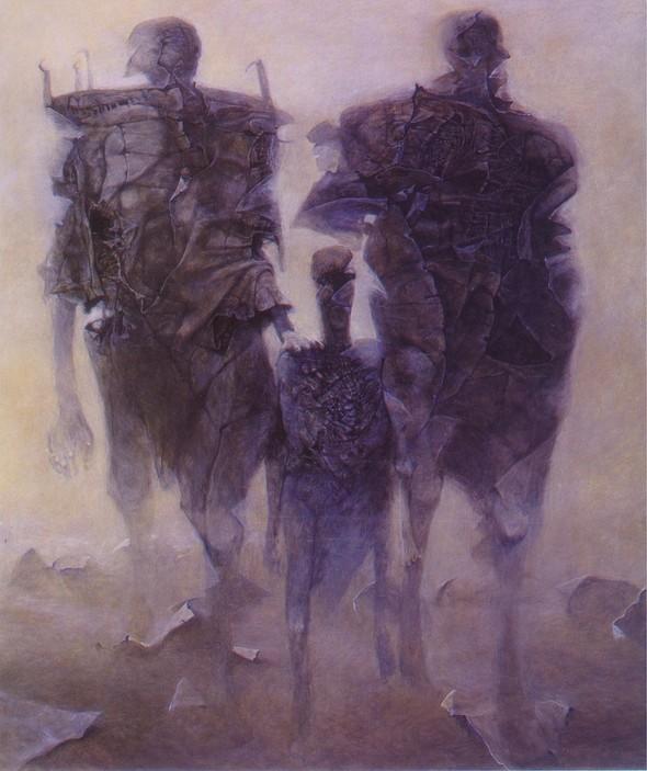 Архив работ Ждислава Бексински. Изображение № 8.