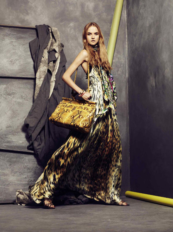 Изображение 23. Roberto Cavalli Lookbook Spring 2011.. Изображение № 23.