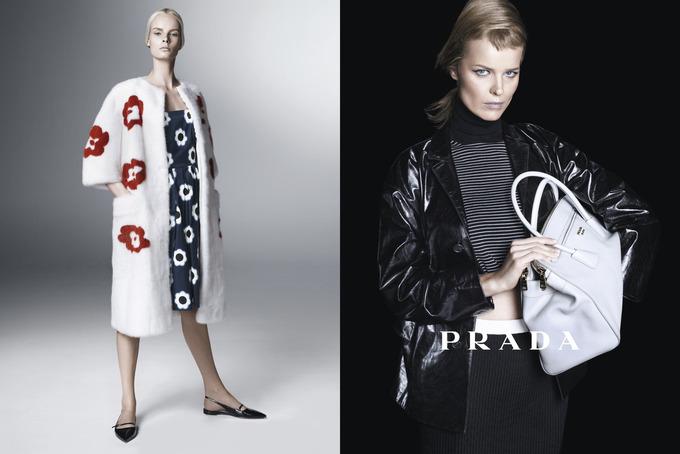 Вышла кампания Prada с Пивоваровой и Зиммерманн. Изображение № 8.
