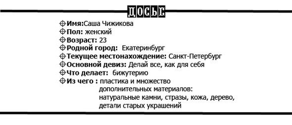 Изображение 45. ПРЯМАЯ РЕЧЬ: Саша Чижикова.. Изображение № 1.