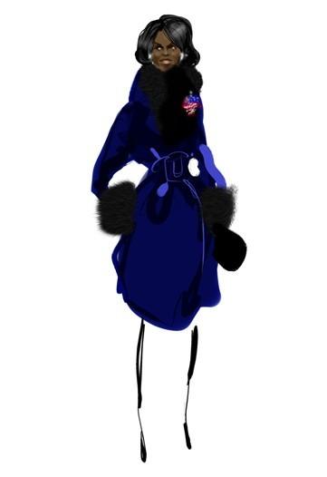 Дизайн одежды дляМишель Обамы. Изображение № 12.