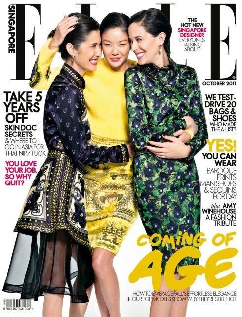 Обложки октября: Elle, Marie Claire, Interview и другие. Изображение № 8.