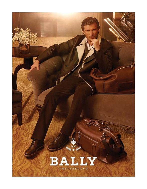 Изображение 4. Превью мужских кампаний: Emporio Armani, Bally и другие.. Изображение № 2.