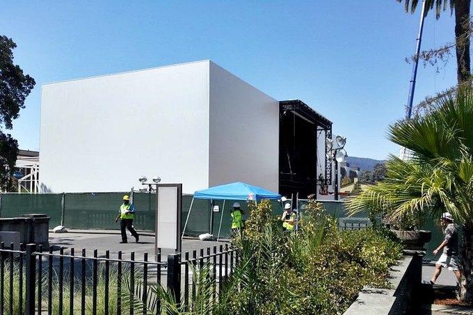 Apple построит концертный зал для первой осенней презентации . Изображение № 1.