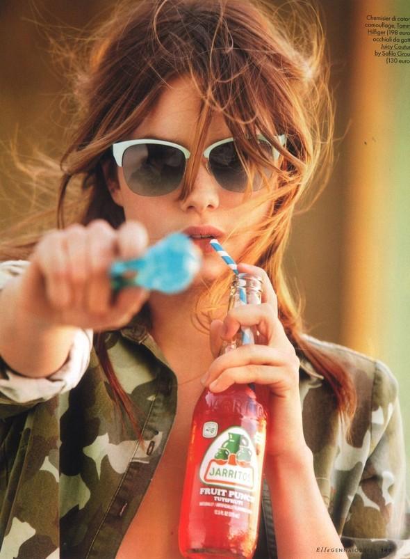 Съёмка: Камилла Рове для Elle. Изображение № 3.