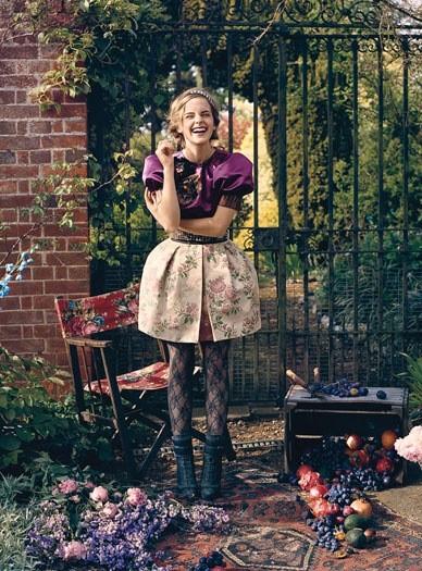 Emma Watson для Teen Vogue (2009). Изображение № 4.