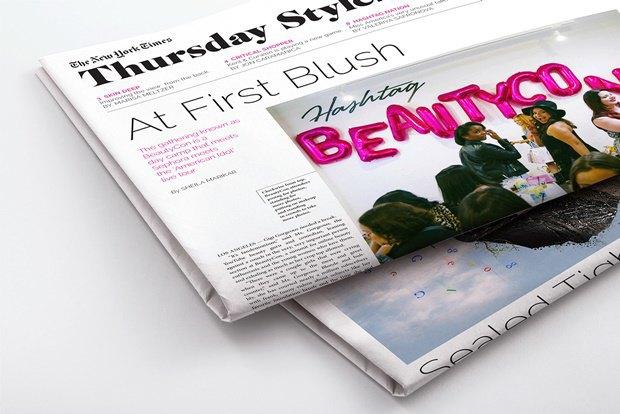 Студент переделал печатную версию TheNew York Times. Изображение № 5.