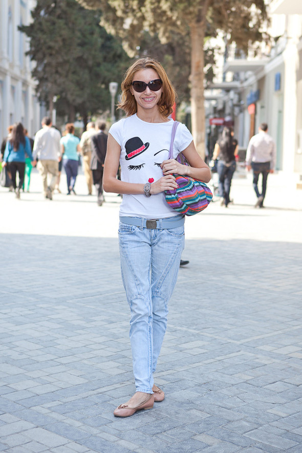 Baku Street Fashion | Spring 2012. Изображение № 36.