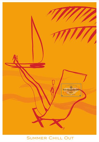 Картинки француской художницы дляVeuve Clicquot. Изображение № 5.