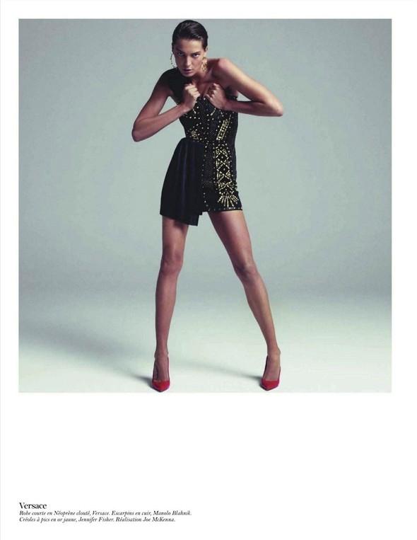 Съёмка: Дарья Вербова для французского Vogue. Изображение № 52.
