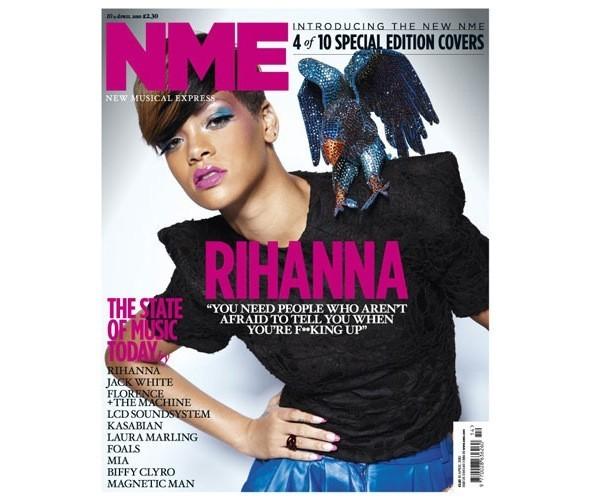 Новый дизайн и десять обложек NME. Изображение № 6.