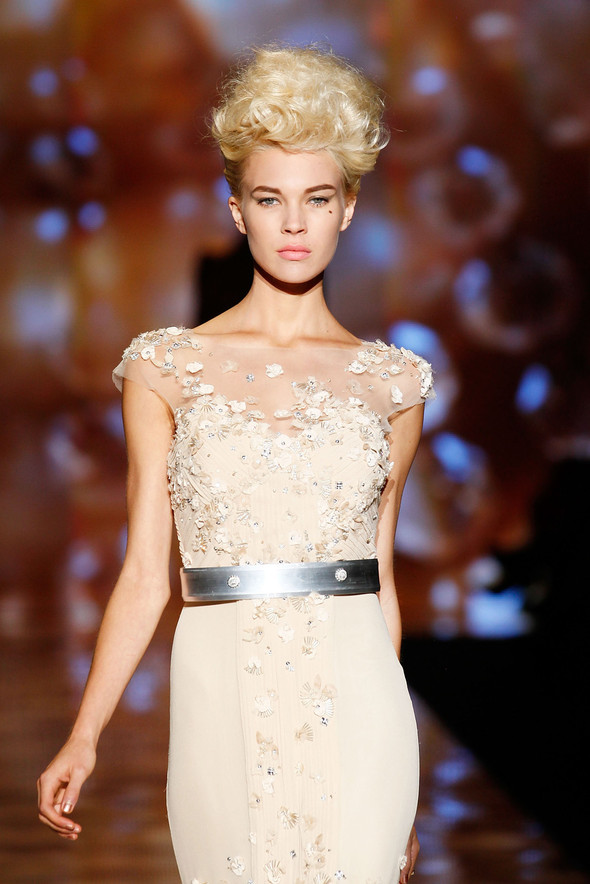 New York Fashion Week: Badgley Mischka Spring 2012. Изображение № 16.