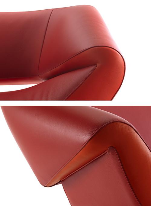 Ассиметричный диван Arabella от Leolux. Изображение № 4.