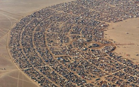 """Фестиваль """"Burning Man! """" вНеваде. Изображение № 1."""