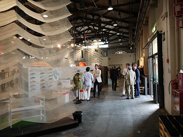 Дизайном павильона Futuro Maschile занимался Оливьеро Балдини. Изображение № 8.