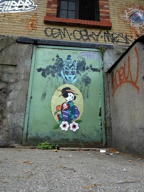 Стрит-арт в Париже. Изображение № 19.