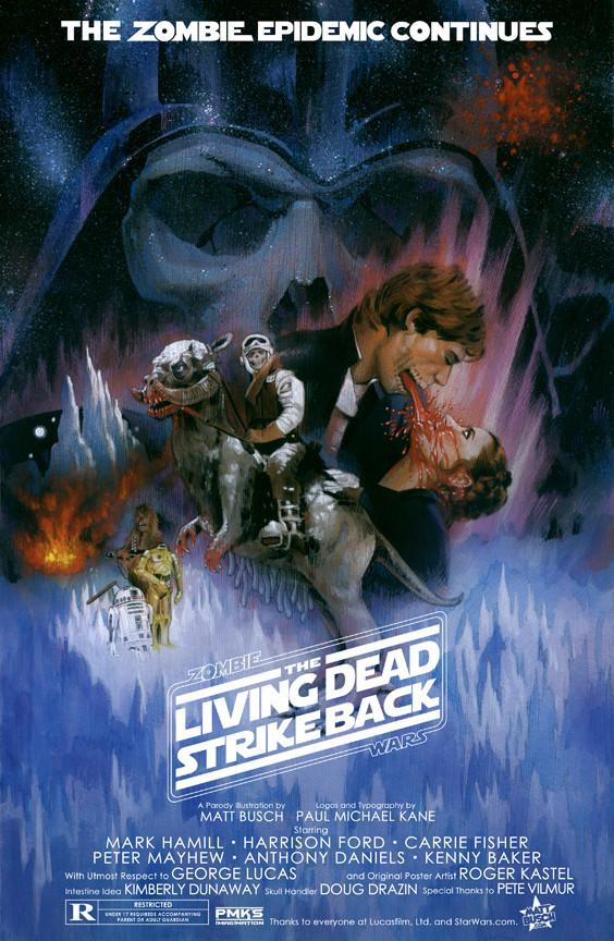 15 зомби-постеров известных фильмов. Изображение № 15.