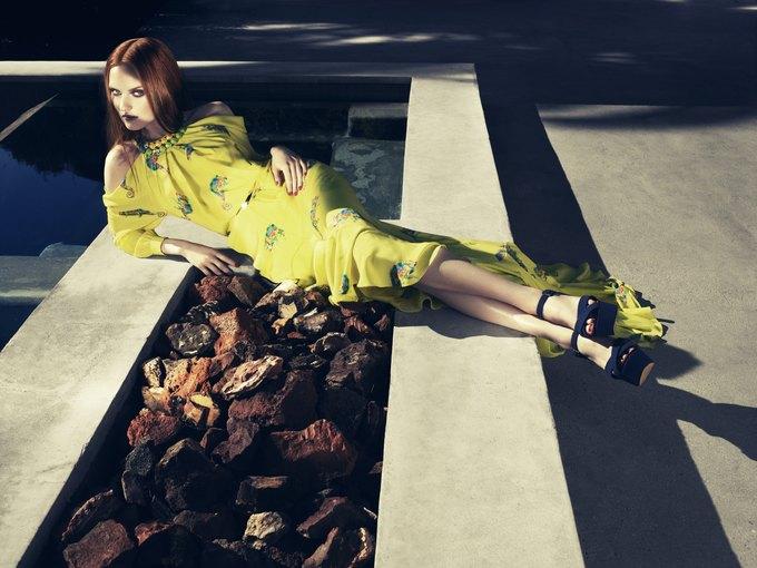 Alexander McQueen, Celine и LUBLU Kira Plastinina показали новые кампании. Изображение № 2.