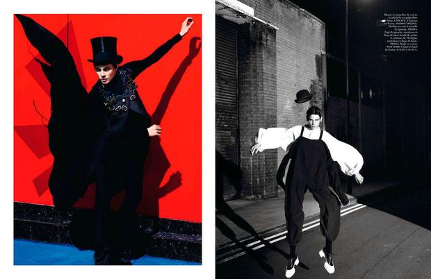 Новые съемки Dazed & Confused, Vogue, i-D и W Magazine. Изображение № 2.