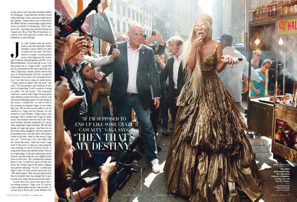 Съёмка: Леди Гага для Vanity Fair. Изображение № 5.