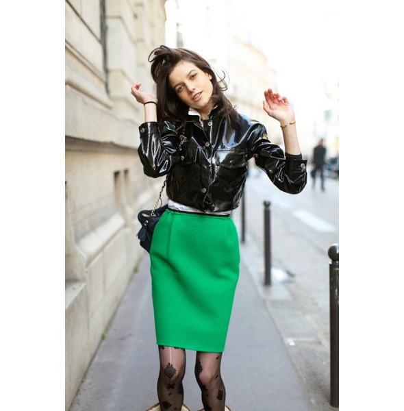 Изображение 86. На полях: 10 тенденций уличного стиля с прошедших недель моды.. Изображение № 86.