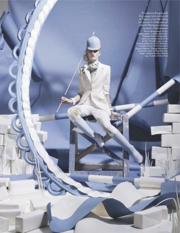 Съемки: Vogue, Elle, Tush и другие. Изображение № 6.