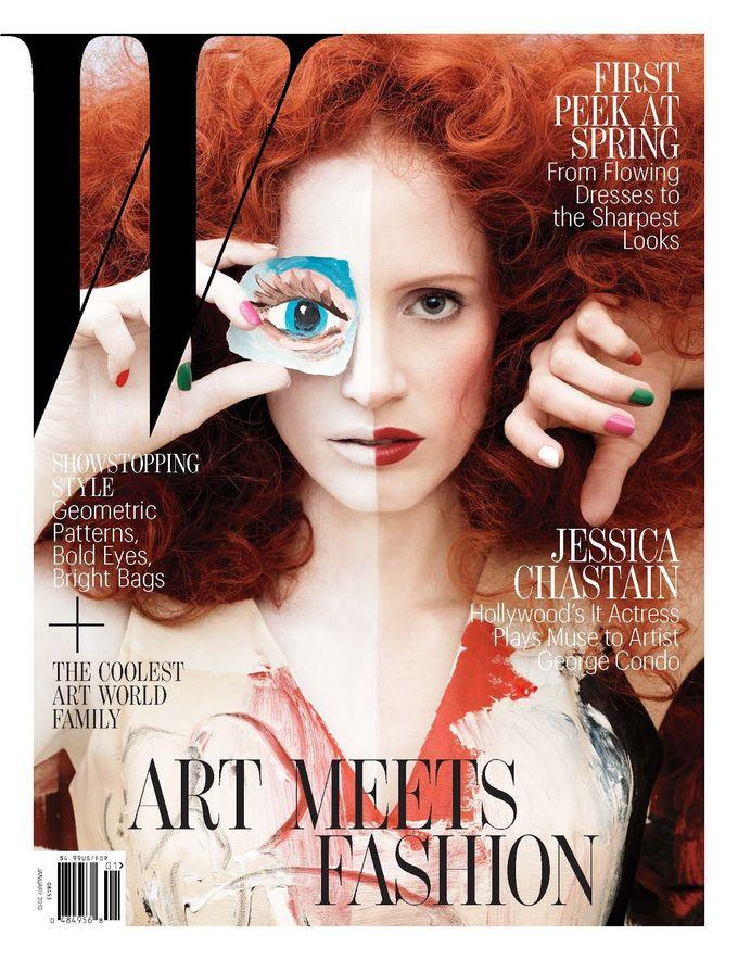 L'Officiel, Revs, W и другие журналы показали новые обложки. Изображение № 6.