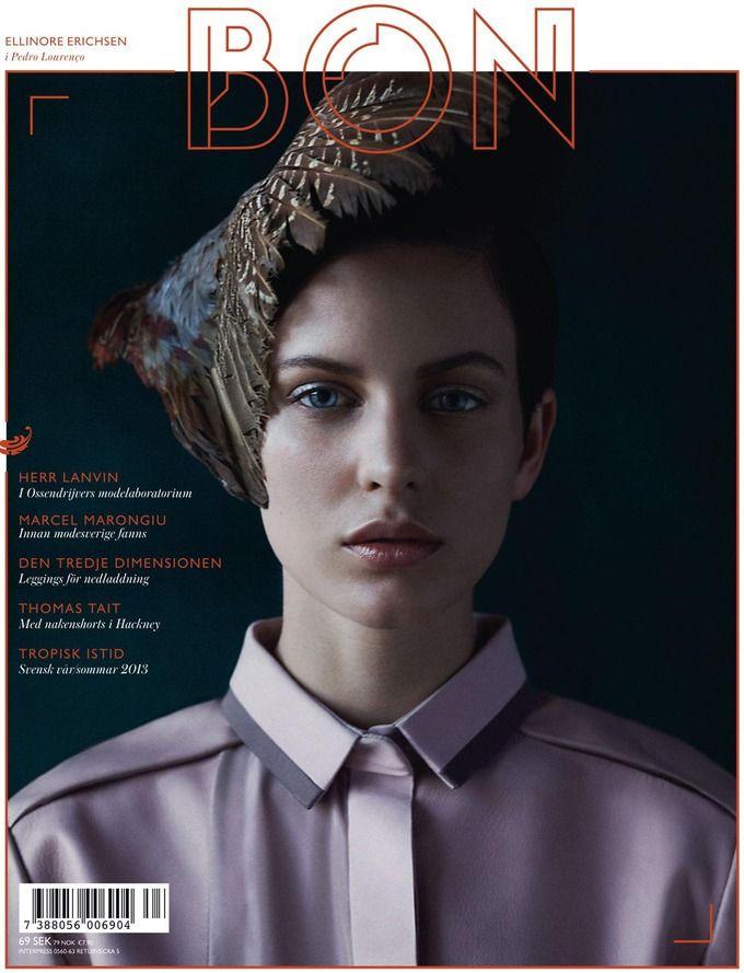 Вышли новые обложки Numero, W, Bon и других журналов. Изображение № 5.