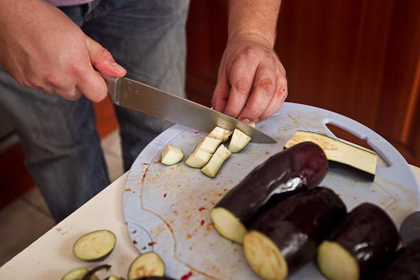 Овощное рагу, гаспачо, греческий салат: Настоящий осенний обед. Изображение № 31.