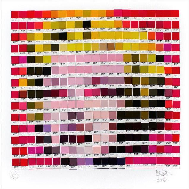 Фото: известные картины в цветах Pantone. Изображение № 3.