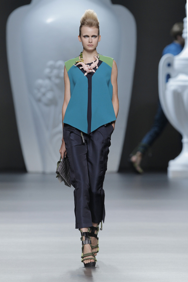 Madrid Fashion Week SS 2013: ANA LOCKING . Изображение № 23.