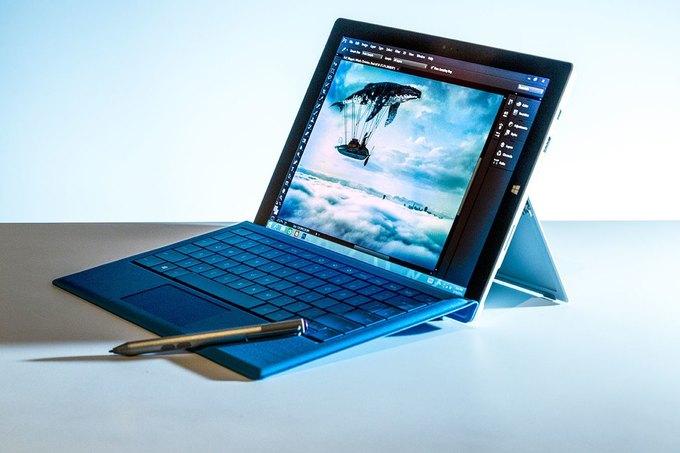 Microsoft представила гибрид планшета и ноутбука Surface Pro 3. Изображение № 1.