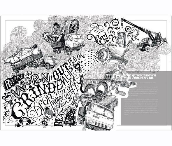 Личный опыт: 5 российских иллюстраторов, которые работают для зарубежных проектов. Изображение № 75.