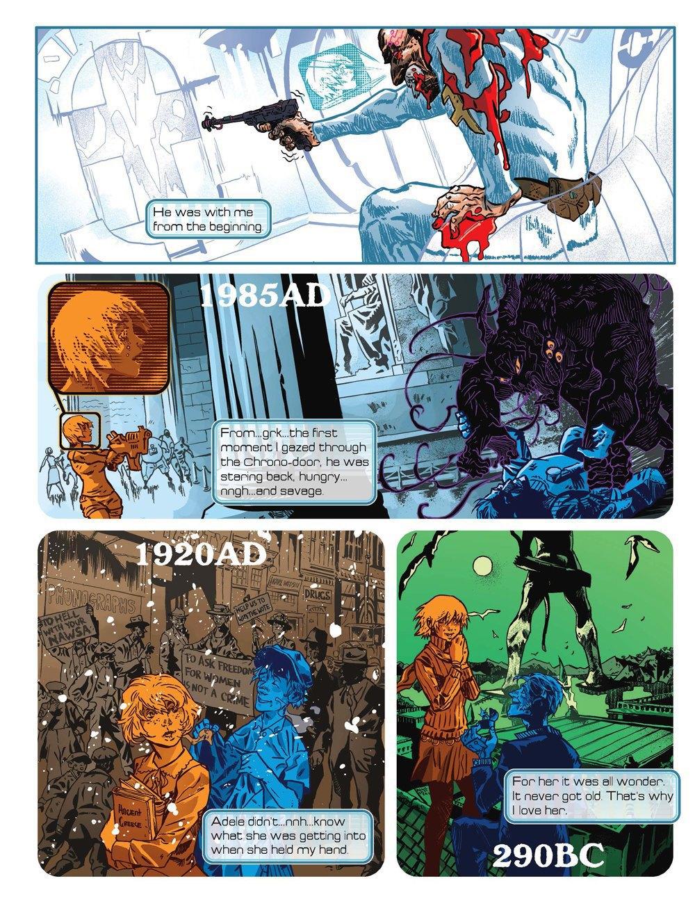 Как стать художником мирового издательства комиксов. Изображение № 5.