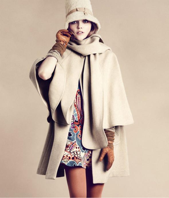 Лукбук: Саша Пивоварова для H&M FW 2011. Изображение № 1.