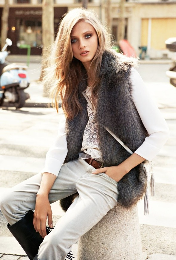 Лукбуки: H&M, Free People, Mango и Zara. Изображение № 26.