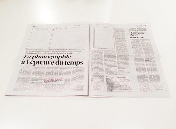 Libération выпустила газету без фотографий. Изображение № 1.