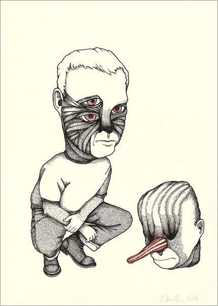 Фиктивная анатомия Джона Кейси. Изображение № 6.
