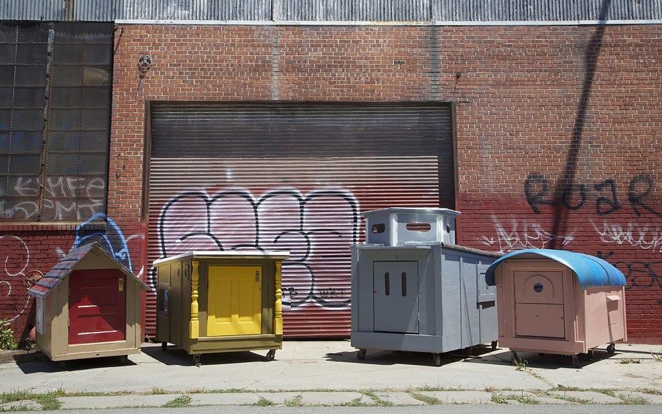 Фото: необычные проекты жилья для бездомных . Изображение № 4.